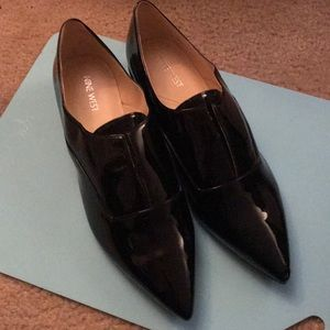 Nine West patent leather loafers size 11
